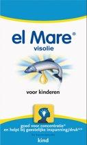 El Mare Visolie Voor Kinderen - 150 Kauwcapsules - Visolie - Voedingssupplement