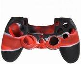 PS4 Controller Protector Siliconen Rood / Zwart