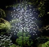 LED-boom Kers bloesems 180 cm Koud-wit Bruin Polarlite PCA-03-003 PCA-03-003
