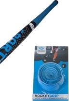 Hockeystick grip blister blauw
