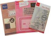 Hobby wenskaartenpakket - Marianne Design products assorti schooltime NL - 1 stuk