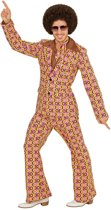 Jaren 70 groovy disco pak voor mannen - Volwassenen kostuums