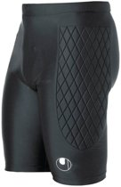 Uhlsport Tight  - Sportbroek - Unisex - Maat S - Zwart