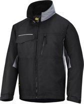 Snickers Workwear winterjack - Craftsmens - Zwart/grijs- mt. XL
