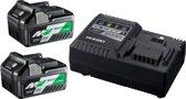 HiKOKI/Hitachi Booster pack 2 (BSL36a18 x2 +UC18YSL3)