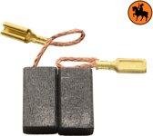 Koolborstelset voor Skil Mini Slijper  9003 - 6x8,4x15mm