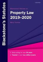 Blackstone's Statutes on Property Law 2019-2020