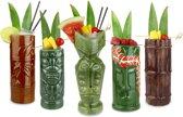 Bar@ Tiki cocktail glazen - 5 stuks