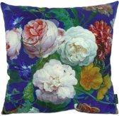 Soft Colorful Flowers - Bloemen Kussenhoes | Katoen/Flanel | 45 x 45 cm