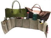 Purseket® tasorganizer Large Glen Check