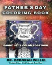 Fathers Day Coloring Book