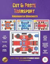 Kindergarten Worksheets (Cut and Paste Transport)