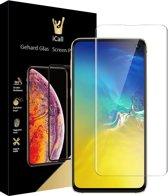 Samsung Galaxy S10e Screenprotector Glazen Gehard | Case Friendly | Tempered Glass van iCall