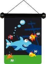 Scratch Spel - Darts small Zeeleven magnetisch - 24x30 cm - 2-zijdig bedrukt