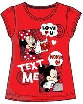 Disney Minnie Mouse t-shirt maat 128
