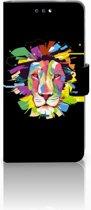 Nokia 3.1 (2018) Uniek Boekhoesje Lion Color