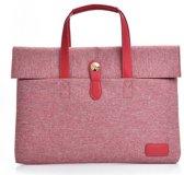Dxyizu - fashion laptoptas 13 - roze