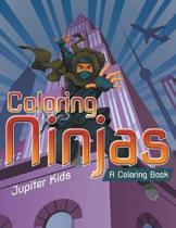 Coloring Ninjas (a Coloring Book)