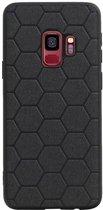 Wicked Narwal | Hexagon Hard Case voor Samsung Samsung Galaxy S9 Zwart