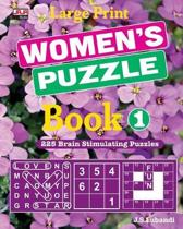 Large Print WOMEN'S PUZZLE Book 1