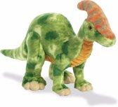 Pluche dinosaurus knuffel Parasaurolophus 35 cm - dino knuffeldier