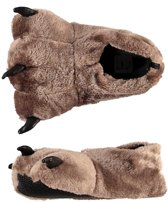 Sloffen/pantoffels beer voor kinderen mt 31-32