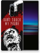 Sony Xperia 1 TPU Hoesje Design Zombie Blood
