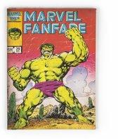 Marvel Comics - Canvas Schilderij- Hulk - Meerkleurig - 70x50 cm