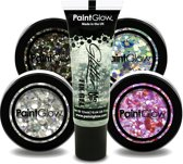 Chunky cosmetics glitters ( Make Up ) set multicolour Paintglow