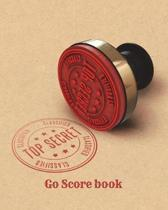 Top Secret-Go Score Book