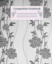 Composition Notebook: Wide Ruled Notebooks Paper - Composition Notebook (Diary, Journal) 7.5x9.25in 110 Pages Wide Ruled Notebooks Paper