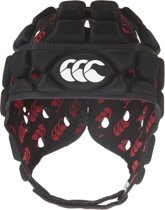 Ventilator Headguard - Scrum cap - Zwart