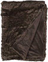 Snoozing Lovis - Fleece - Plaid - 150x200 cm - Bruin