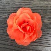 Leuke bloem (roos) op Clip - Oranje