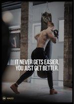 Poster – Get Better - 50x70cm