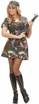 Soldaten jurkje dames 40 (l)