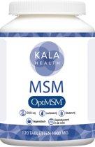 Kala Health optiMSM 120 Tabletten 1000mg (Methylsulfonylmethane)