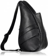 The Healthy Back Bag Volnerf leren tas Black Small