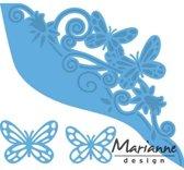 Marianne Design Creatable Mal Vlinder border LR0456 12x14cm