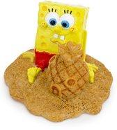 Ornament Spongebob Met Ananas Zandkasteel - 6.5 CM