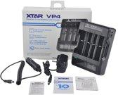 XTAR VP4 IMR batterij-oplader