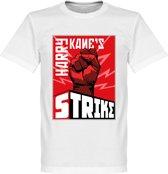 Harry Kane's Strike T-Shirt - Wit - L