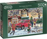 Falcon de luxe December Shopping Puzzel 500 Stukjes