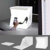24cm Draagbare vouw lightbox fotografie studio LED softbox