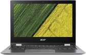 Acer Spin 1 SP111-32N-P7L4 Grijs Hybride (2-in-1) 29,5 cm (11.6'') 1920 x 1080 Pixels Touchscreen 1,10 GHz Intel® Pentium® N4200