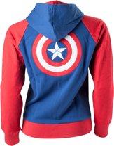 Captain America - Shield Logo male Hoodie - L