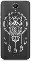 Wiko Harry Hoesje Dream Owl Mandala White