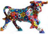 Barcino design barcelona mozaiek Stier beeld in bloemdesign 12 cm