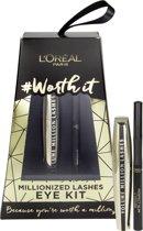 L'Oréal Paris Cadeauset Worth It Million Lashes Black