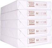 Printpapier / kopieerpapier A4 - White Label - 5 pakken / 500 vellen